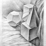 học mỹ thuật căn bản, hình khối cơ bản trong hội họa, hình họa căn bản
