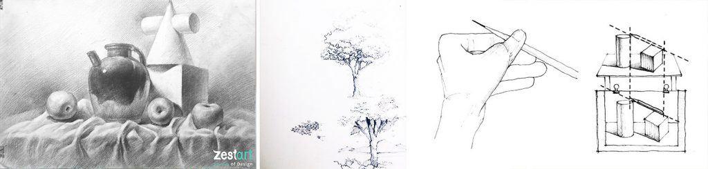 học vẽ cơ bản cho thiếu nhi trẻ em ở tphcm