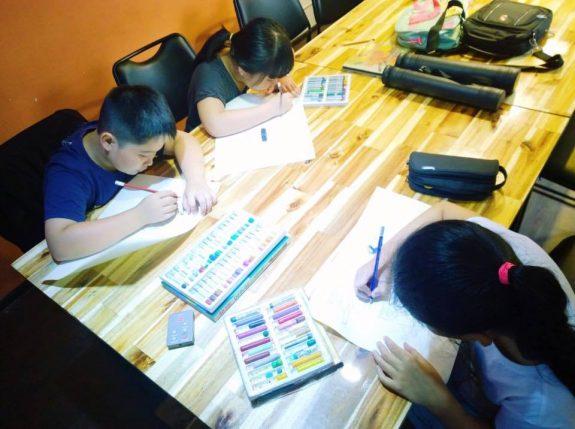 dạy vẽ trẻ em tphcm