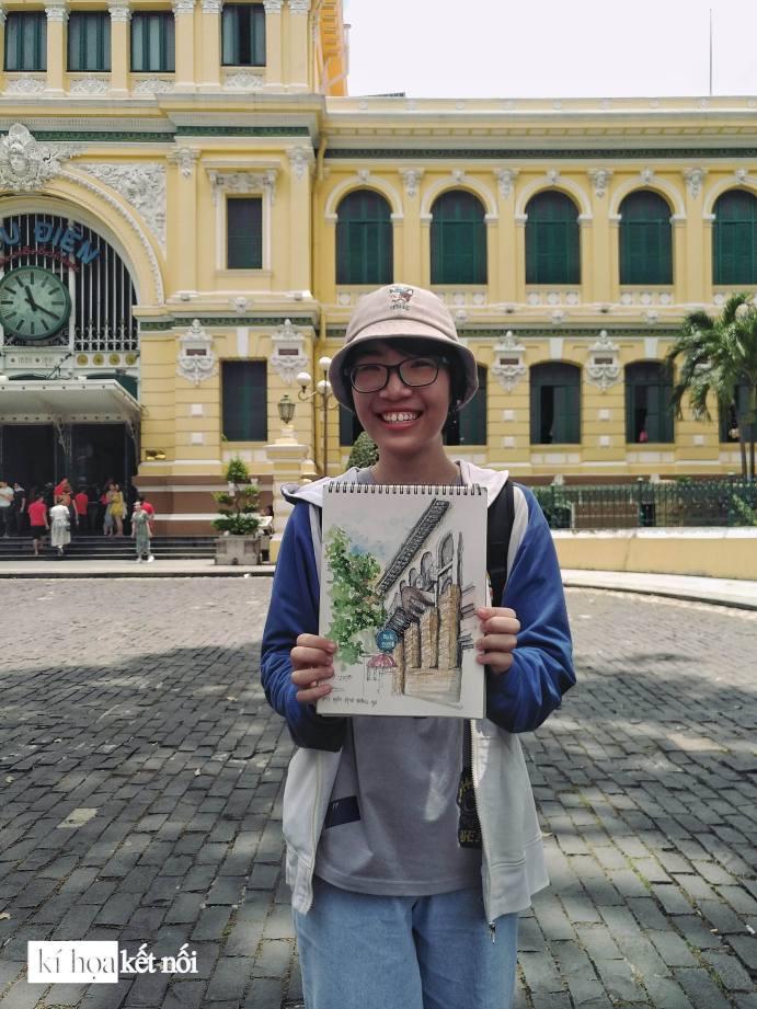 Hoạt động ký họa kết nối lưu gữ Sài Gòn