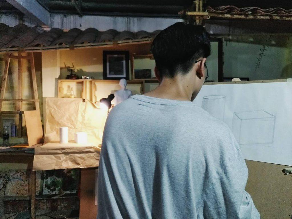Trung tâm dạy vẽ mỹ thuật Zest Art, học vẽ căn bản và luyện thi đại học