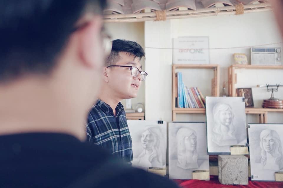 Kỳ thi vẽ tổ chức hàng tháng tại Zest Art