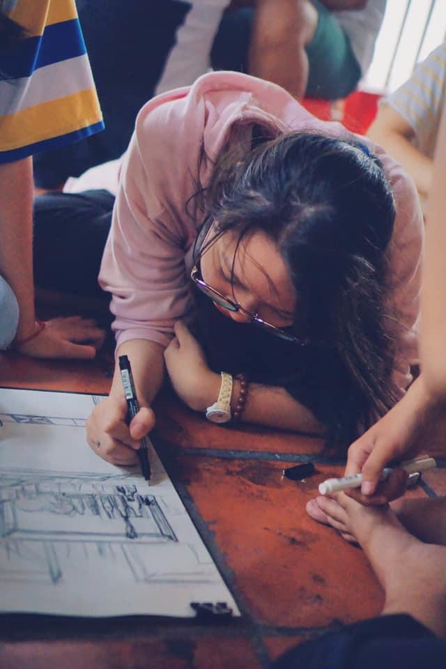 học vẽ ký họa nhanh gia tăng sự tự tin