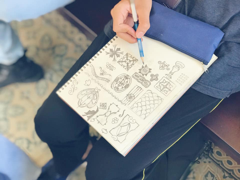 vẽ kí họa cùng zest art
