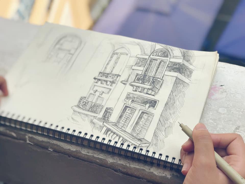 vẽ kí họa baort àng mỹ thuật cùng zest