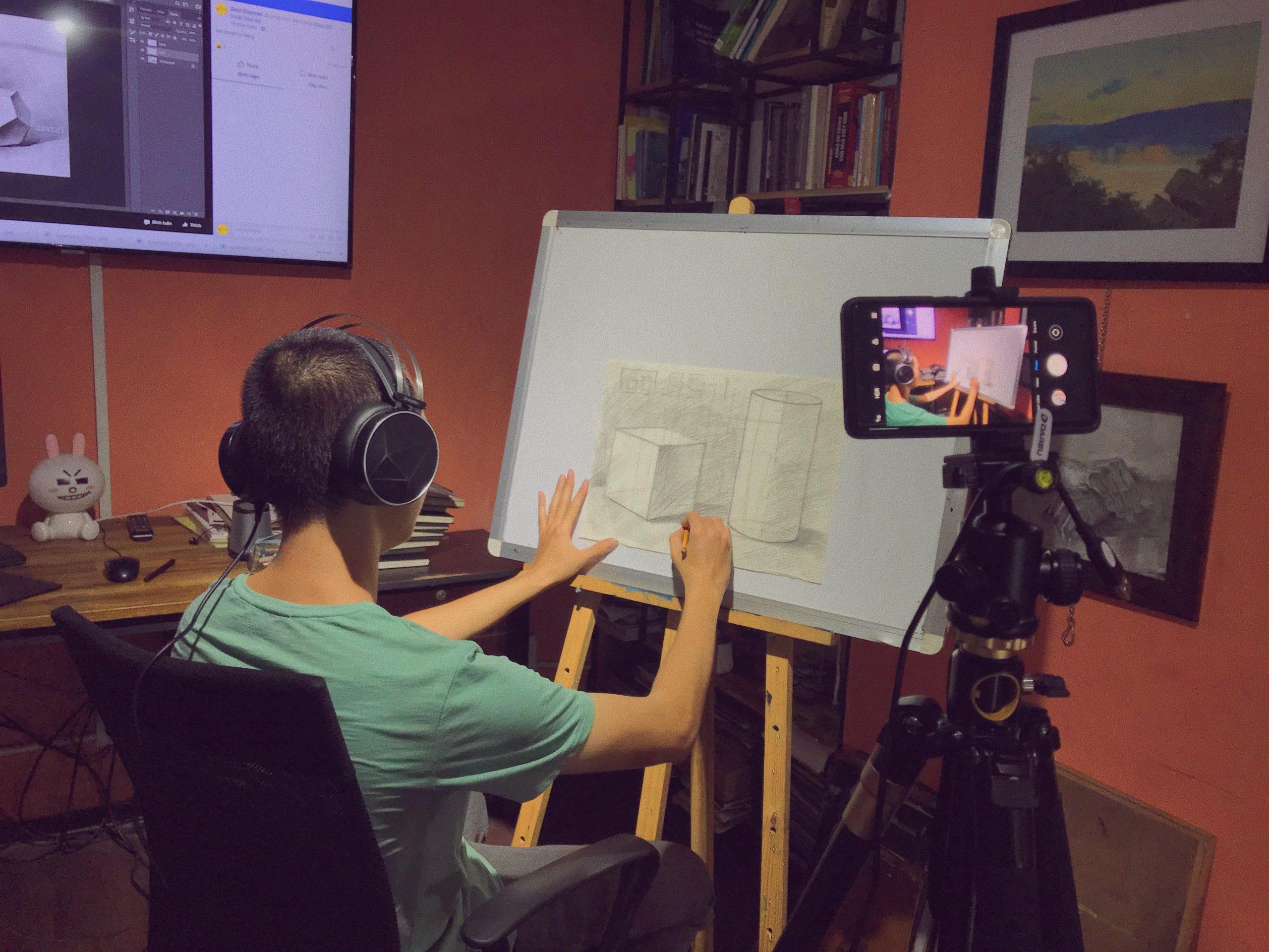 Zest Art - Yếu tố trực quan sinh động trong khoá luyện thi online