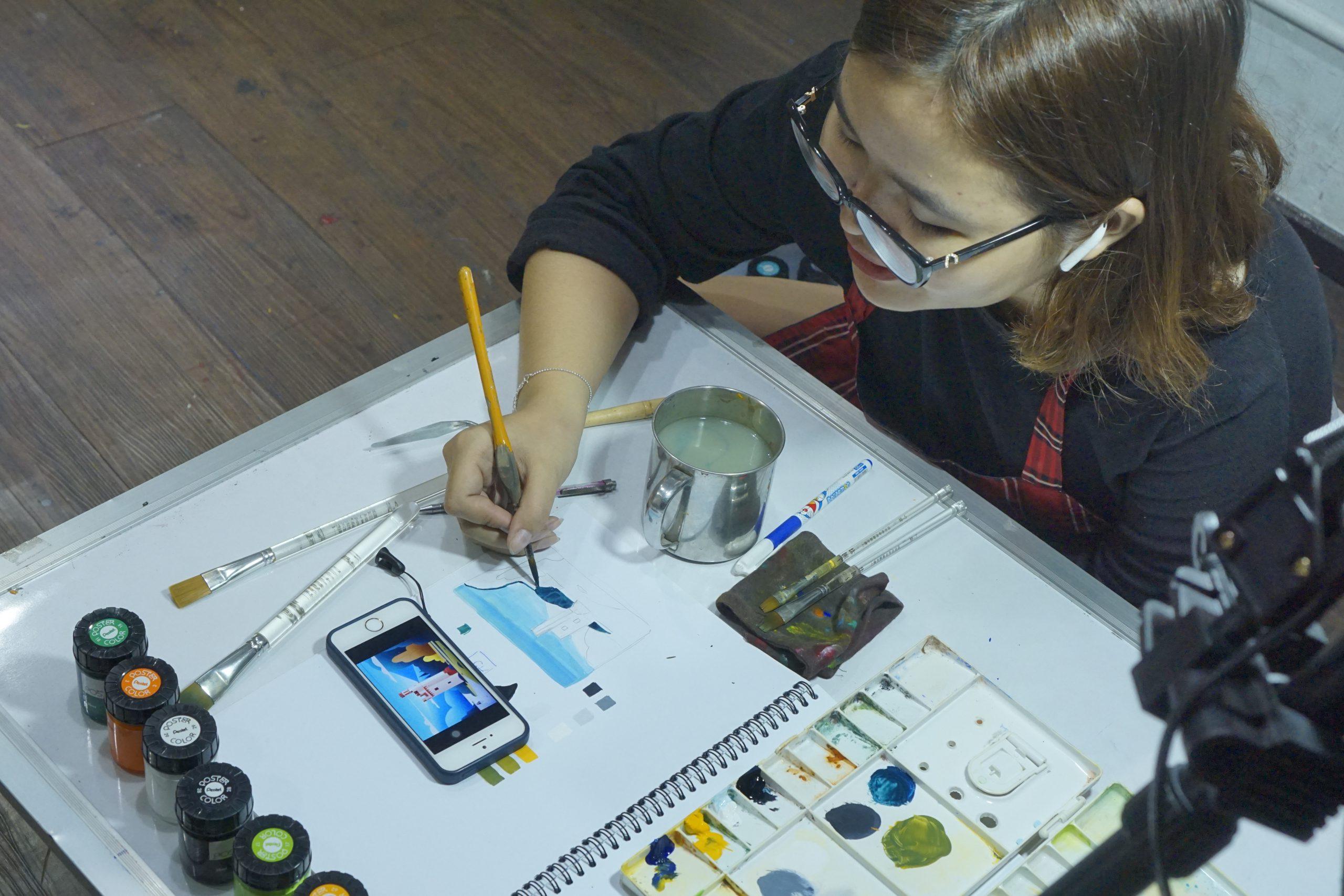 Đội ngũ giảng viên tận tâm và có chuyên môn của Zest Art