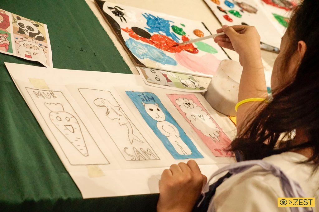 zest art tổ chức Zest Workshop nhà văn hóa thanh niên