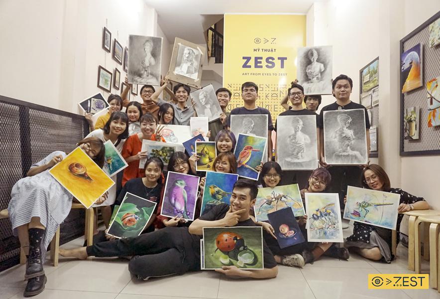 Đào tạo giảng viên mỹ thuật Zest Art
