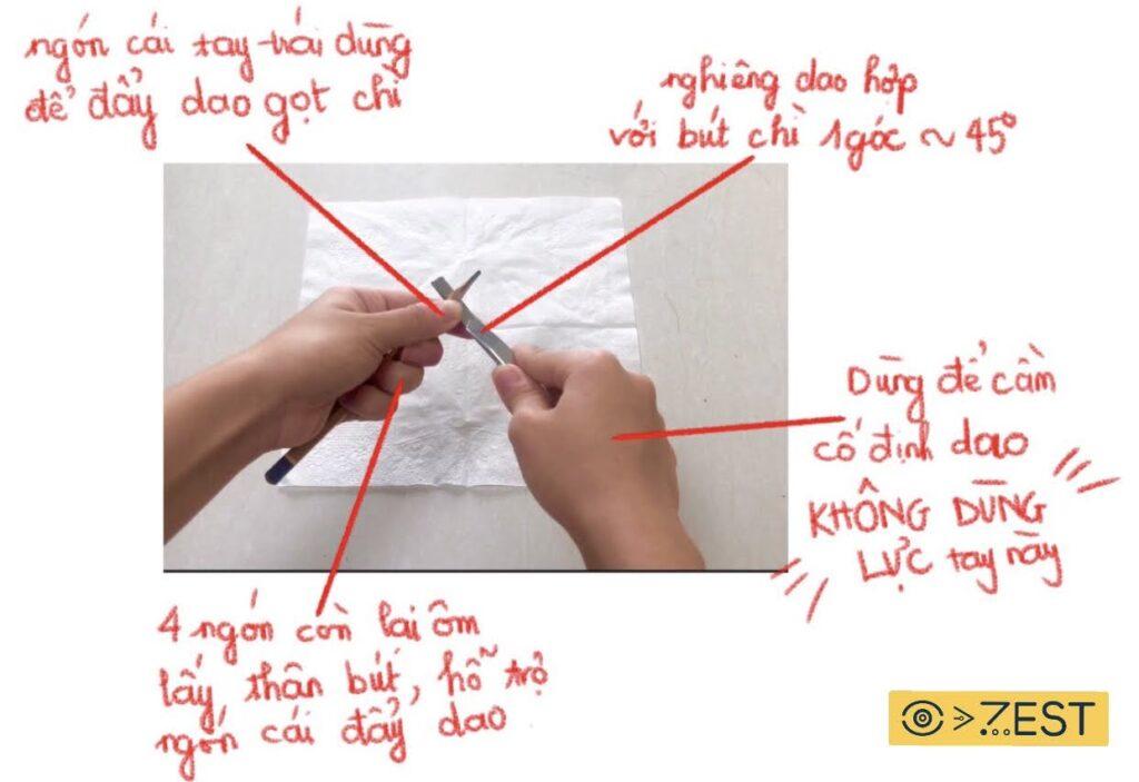 Hướng dẫn sử dụng họa cụ trong môn hình họa chì
