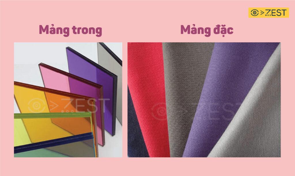"""Màu trong và đặc - Cách """"điều khiển"""" màu trong môn trang trí màu"""